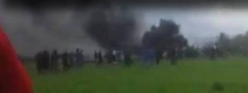 'No survivors' as Algerian military plane crashes with 200 on board