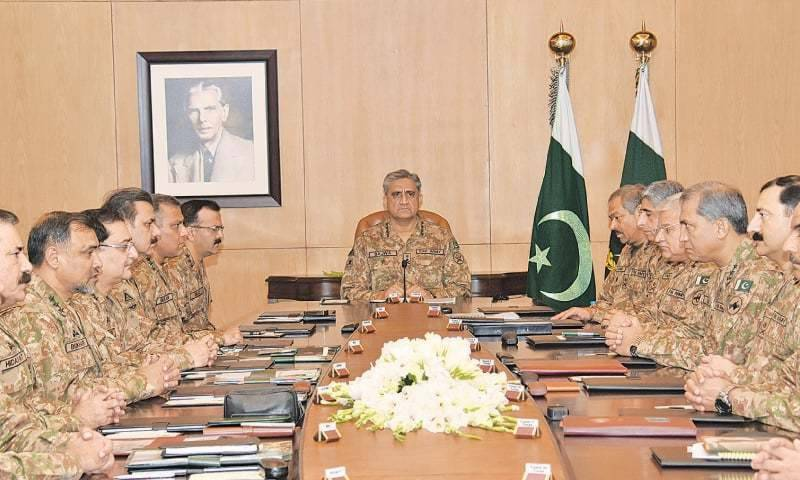 Top army brass reviews operation Radd-ul-Fasaad, Khushal Balochistan programme