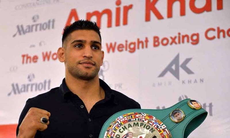 Amir Khan ready to face boxer Phil Lo Greco