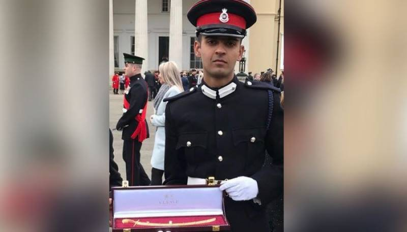 Pak army cadet receives international medal at British royal military academy
