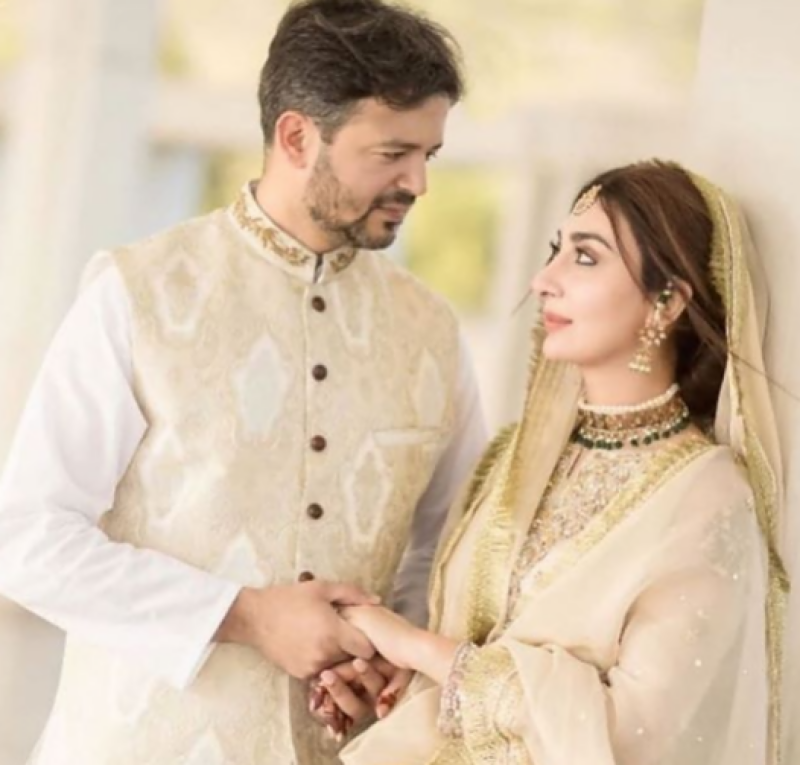 Watch: Ayesha Khan looks stunning at her Nikah ceremony