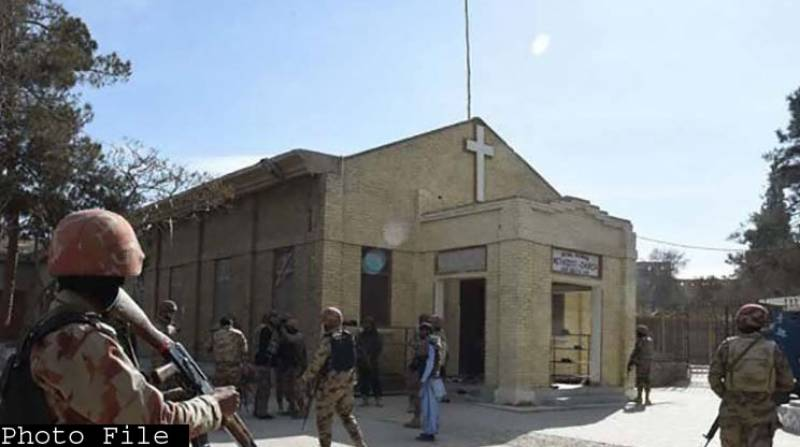 One dead, 6 injured in attack on Christian community near Quetta church
