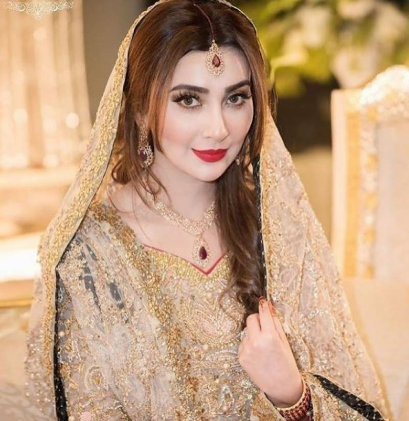 Gorgeous Ayesha Khan at her Walima Ceremony