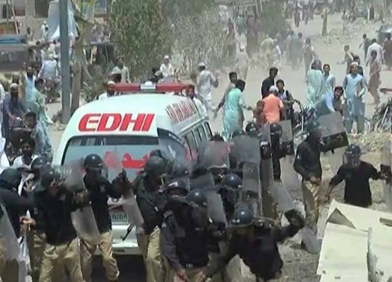Murder, rape of minor: One killed, 12 injured as protest erupts in Karachi