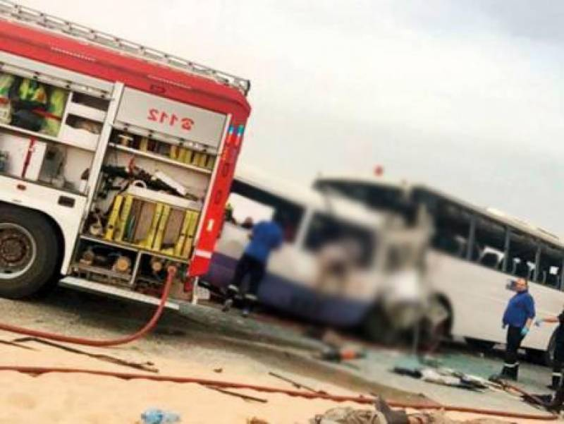 At least 32 Chinese tourists killed in road accident