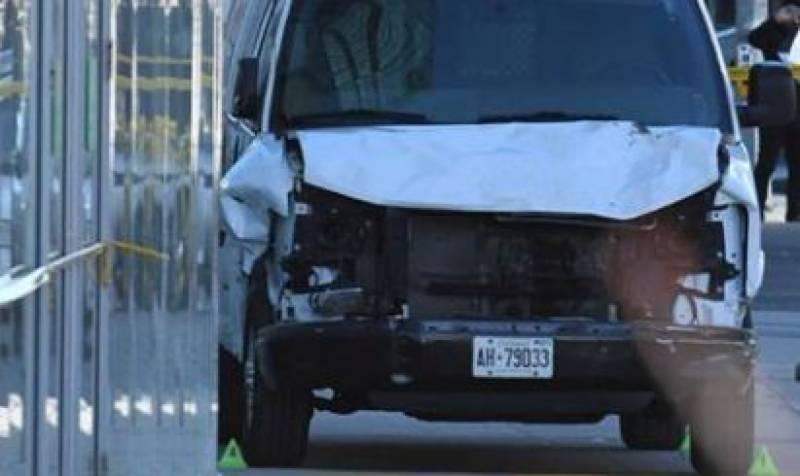 Footage: Nine dead, 16 injured as van hits pedestrians in Toronto