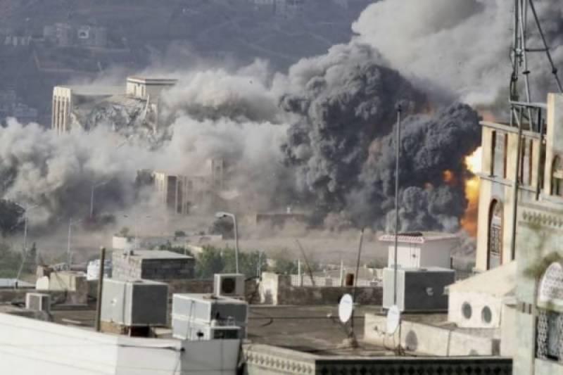 Saudi air strikes target wedding ceremony, kill 20 including Houthi leader