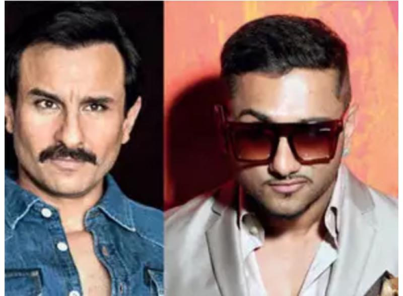 Saif Ali Khan turns rapper with Yo Yo Honey Singh