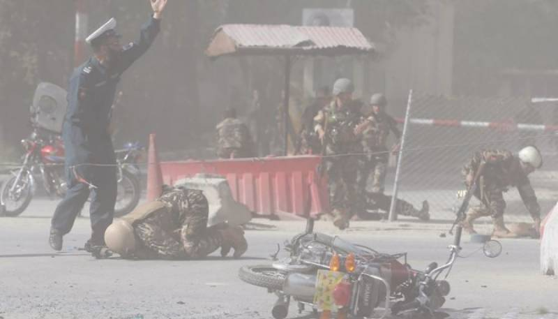 More than 20 including 8 journalists, 4 policemen killed in twin Kabul blasts