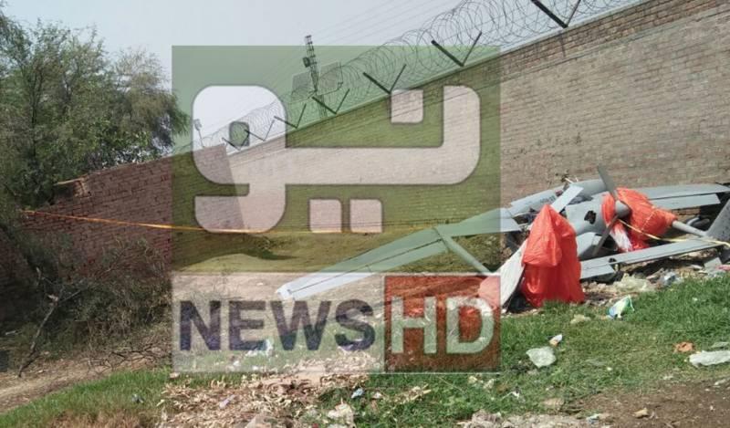 Pakistan Air force plane crashes near Sargodha