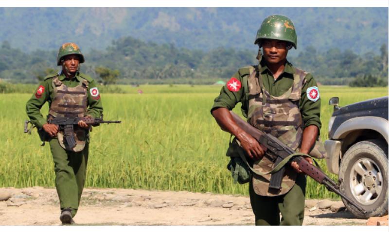 At least 19 dead in fighting between Myanmar army, rebels