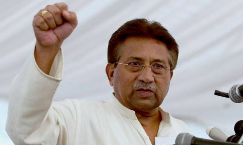 Nawaz should be tried under Article 6, demands Musharraf