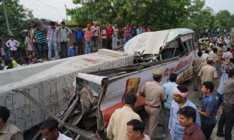 India flyover collapses, kills at least 18