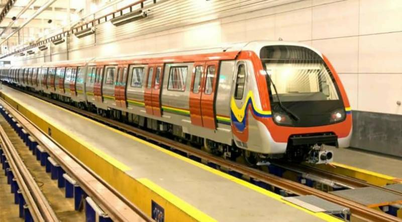 Video: Shehbaz inaugurates second Orange Line Train test run