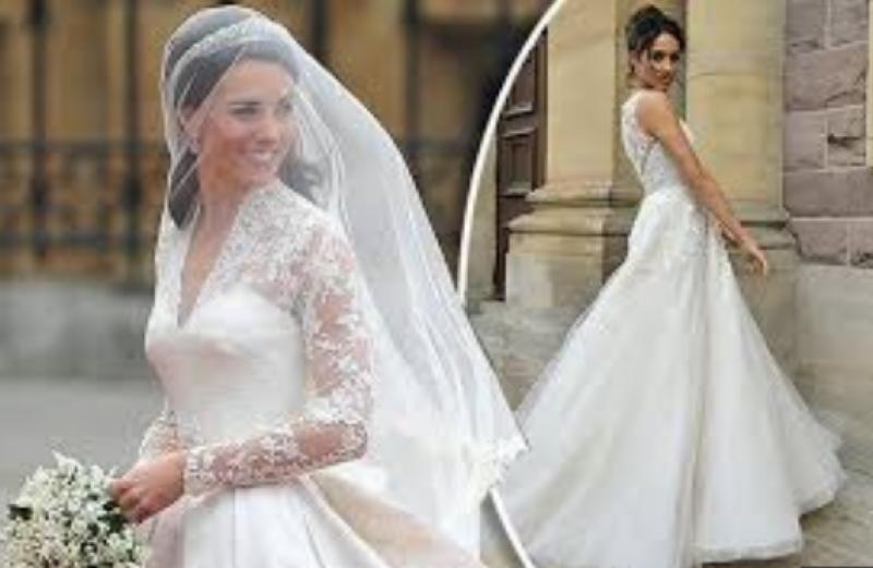 Would you like to see Meghan Markle's wedding secret dress