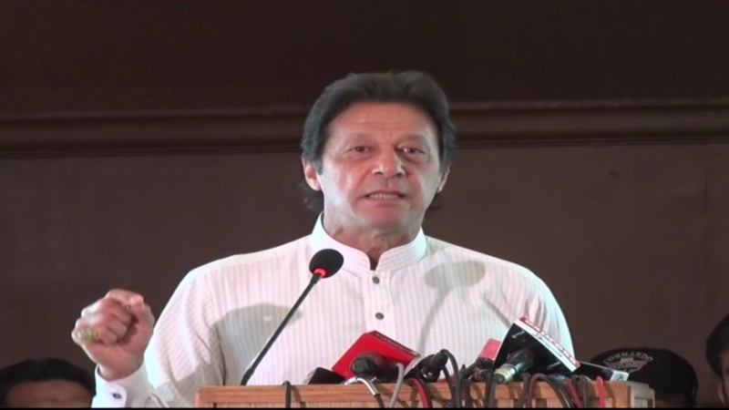 Imran khan unveils 100-day plan if PTI comes into power