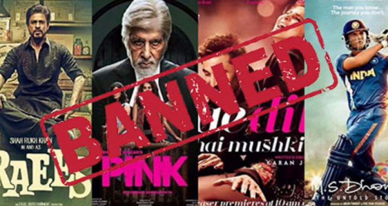 Government puts bans on Indian films in Pakistan