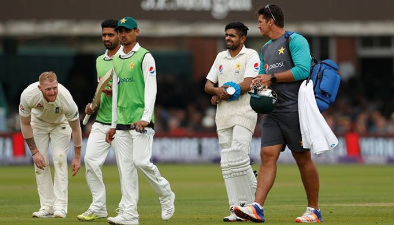 Babar Azam ruled out of England series due to broken arm