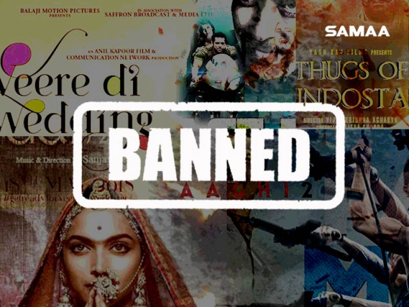 Pakistan bans Indian films on Eid