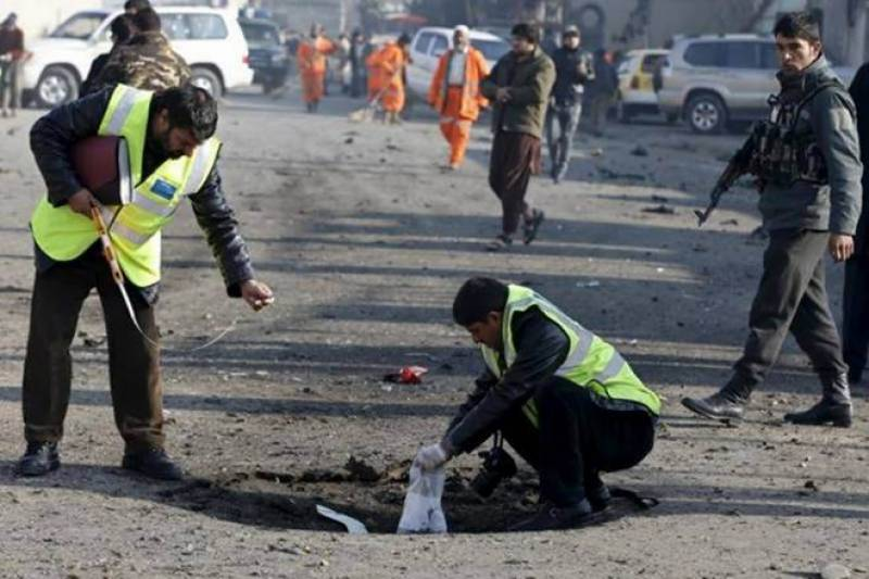 At least seven dead in Kabul suicide blast