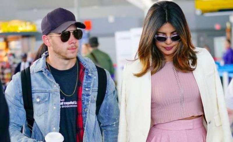 Watch: Priyanka Chopra and Nick Jonas make first public appearance