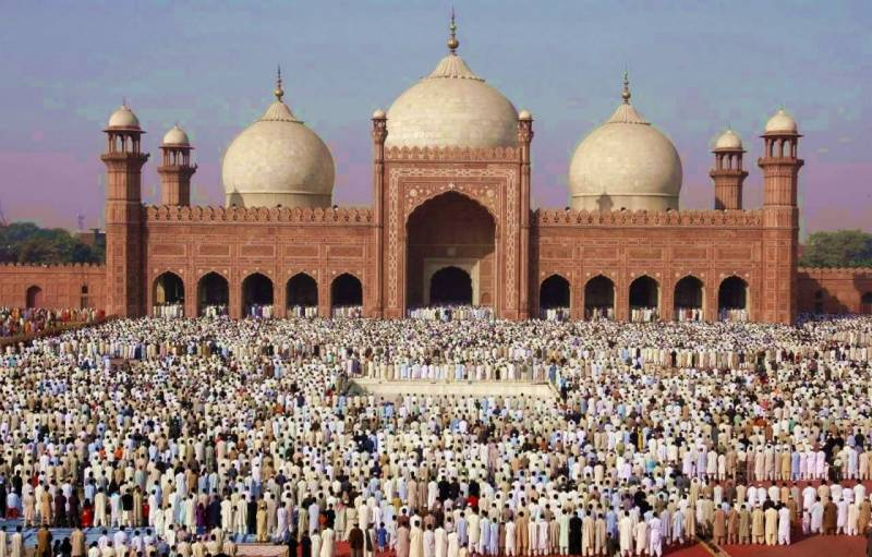 Eid-ul-Fitr being celebrated with religious zeal, fervor