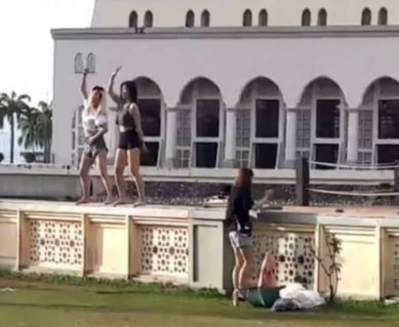 Watch: Mosque bans tourists after 'vulgar dance video' goes viral