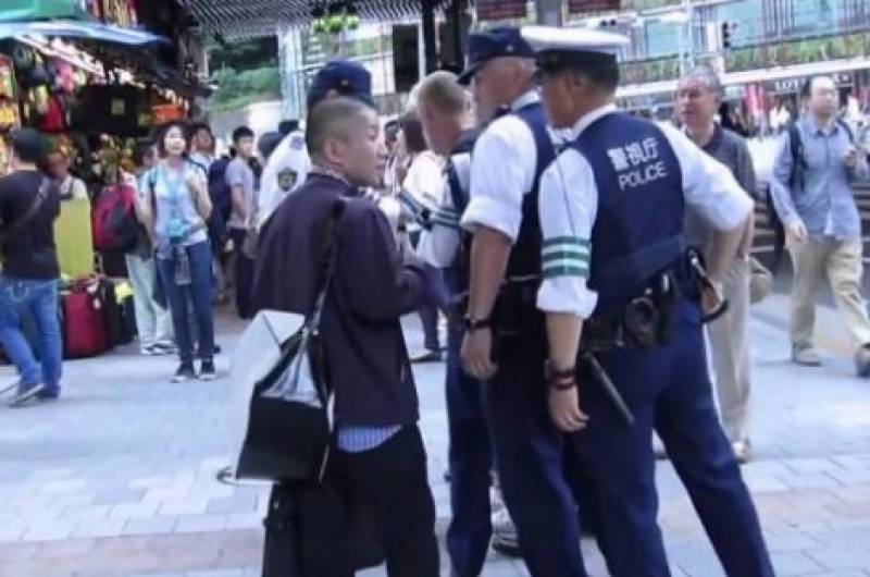 Policeman among two dead in rare Japan violent crime