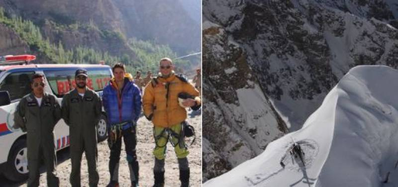 Avalanche stricken British mountaineers in Hunza valley rescued