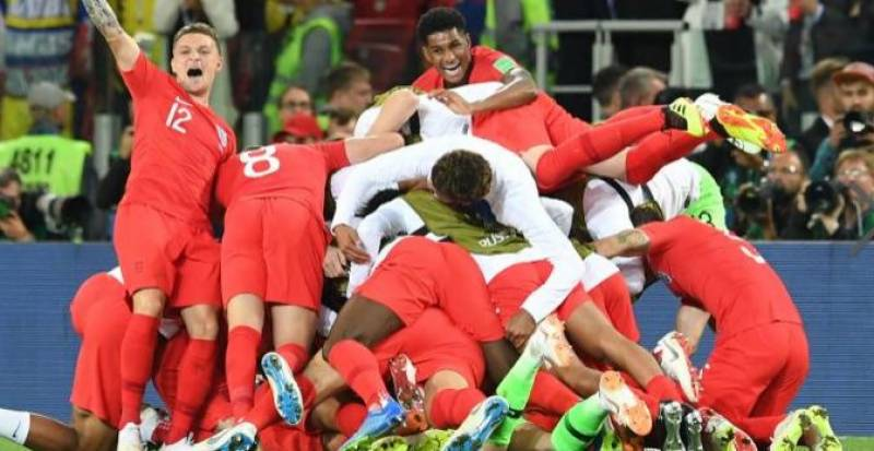 World Cup: England knock out Colombia to reach quarterfinals