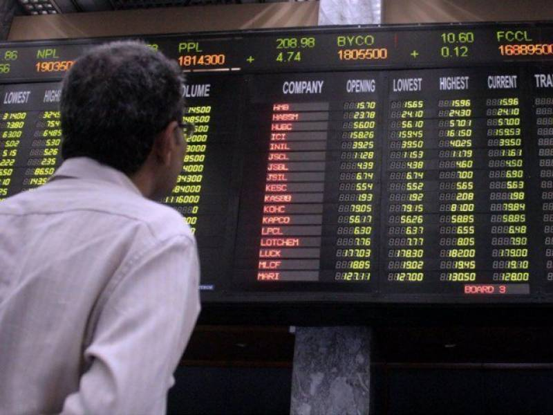 KSE-100 touches lowest level in 2018