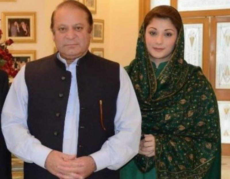Interior Ministry puts Nawaz, Maryam on ECL