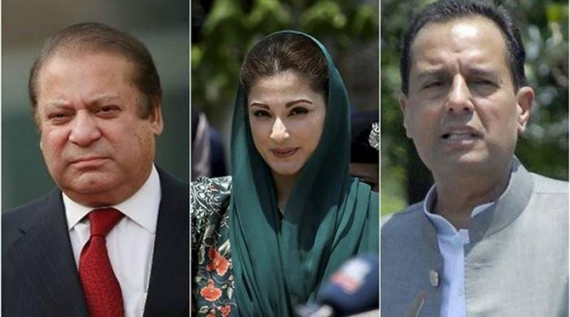 Nawaz, Maryam and Safdar challenge Avenfield verdict in LHC