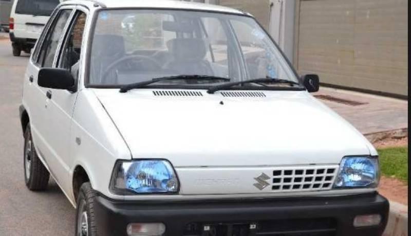 Pak Suzuki Motor announces to discontinue Mehran VX