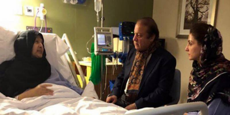 Kulsoom Nawaz regains consciousness after one month