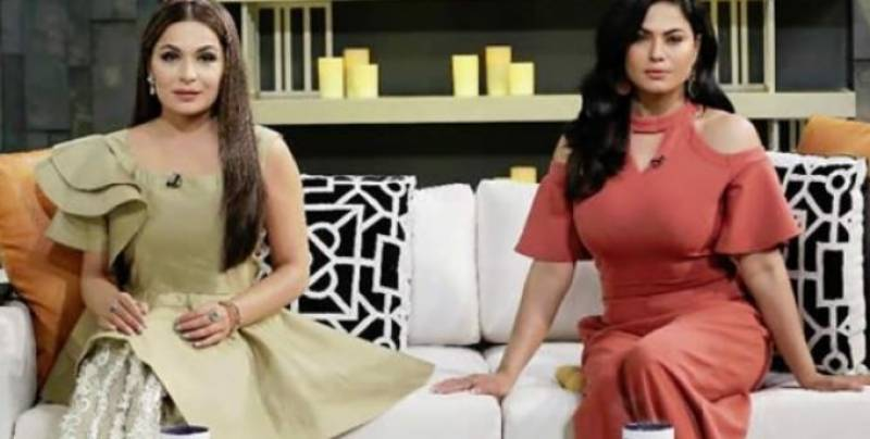 Watch: Meera, Veena interaction on 'Tonite with HSY'