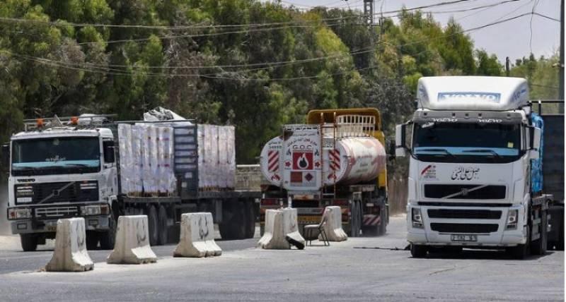 Israel again halts gas and fuel entry into Gaza