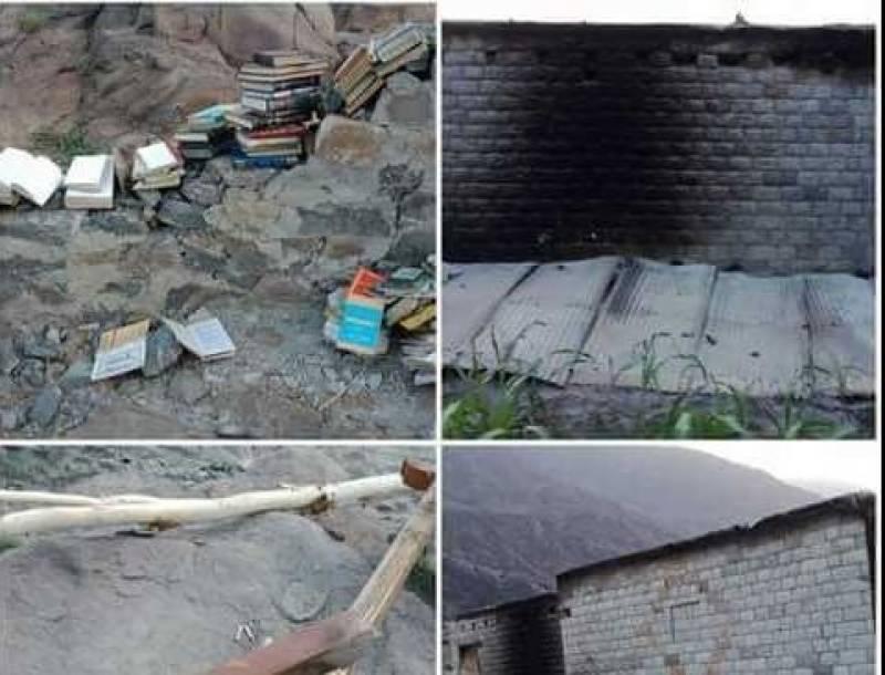 At least 12 schools burnt down in Gilgit-Baltistan's Diamer district