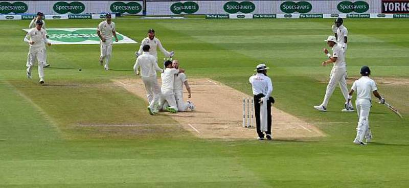 Cricket: England beat India by 31 runs in first Test