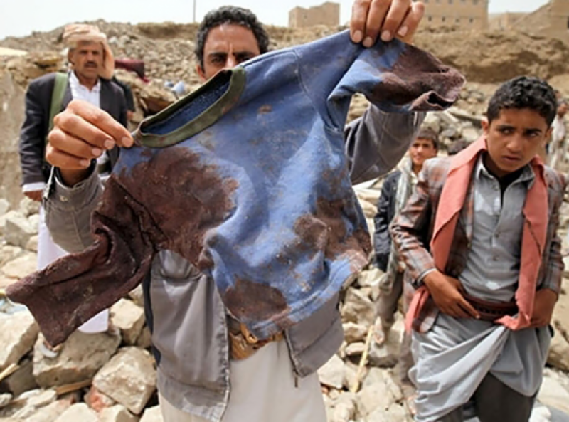 At least 29 children among dozens killed in Yemen air strike