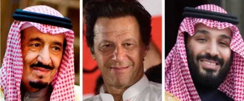Saudi King Salman, crown prince congratulate Imran Khan on polls victory