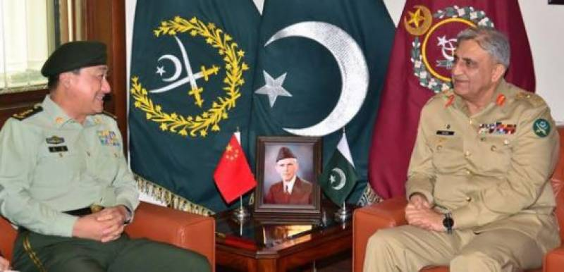 Chinese General meets Army chief, discuss regional security