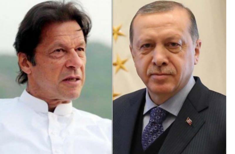 Imran extends support to Erdogan as Turkey battles economic challenges