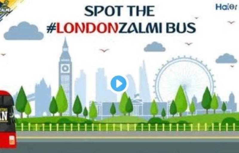 Peshawar Zalmi in London, provides opportunity to win prizes