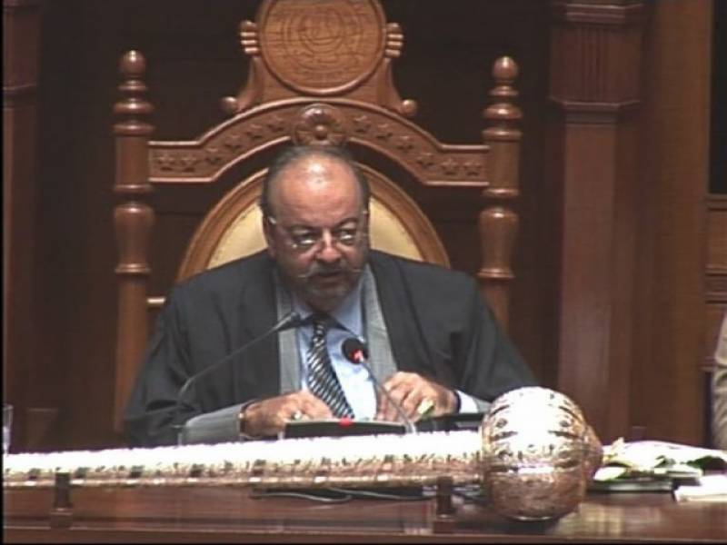 Siraj Durrani re-elected Sindh Assembly speaker