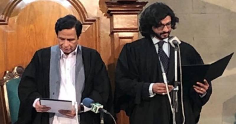 Dost Muhammad Mazari takes oath as Deputy Speaker Punjab Assembly