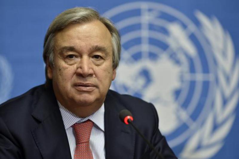Guterres felicitates PM Imran, hopes for strong UN-Pak cooperation