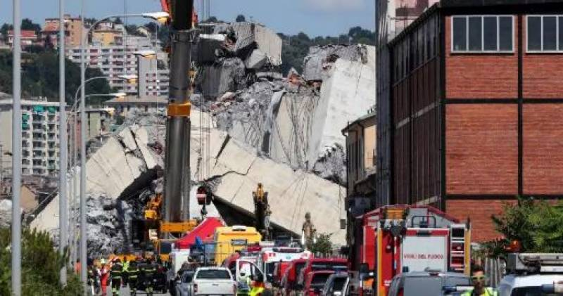 Genoa bridge toll reaches 43 as search for answers ramps up