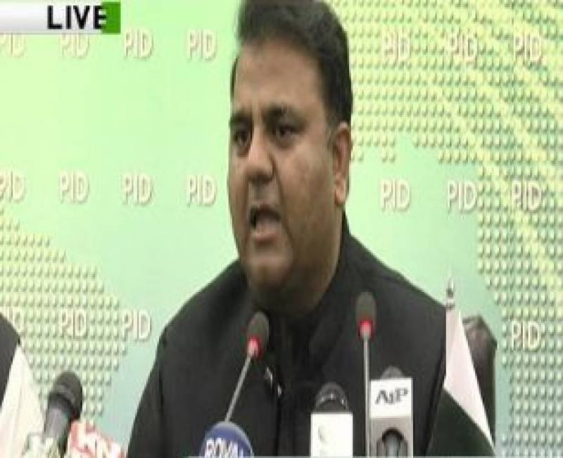 Nawaz, Maryam's names to be placed on ECL: Fawad Chaudhry