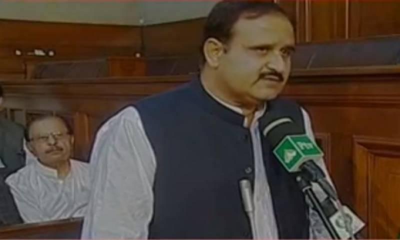 PTI's Usman Buzdar sworn in as Punjab CM